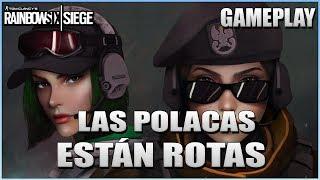 LAS POLACAS ESTÁN ROTAS!  | Wind Bastion | Caramelo Rainbow Six Siege Gameplay Español