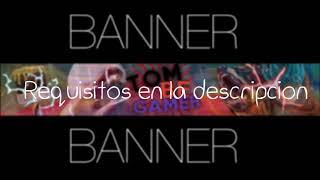 Banner para TEMPLAY GAMER 67 #9 HAGO BANNERS GRATIS