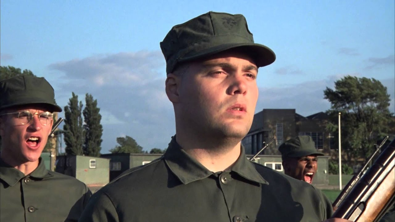 full metal jacket pvt gomer pyle youtube. Black Bedroom Furniture Sets. Home Design Ideas
