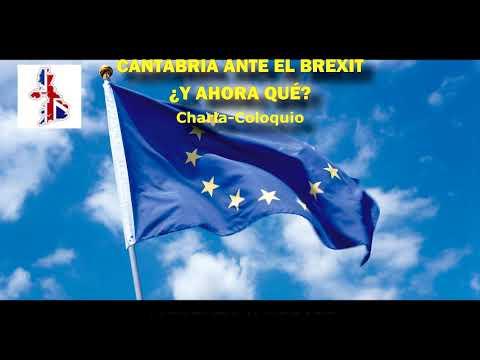 Charla Casa de Europa - Cantabria ante el Brexit