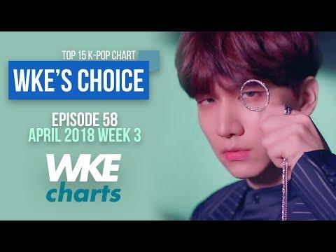 WKE'S CHOICE 58 | APRIL 2018 WEEK 3 | TOP 15 K-POP CHART