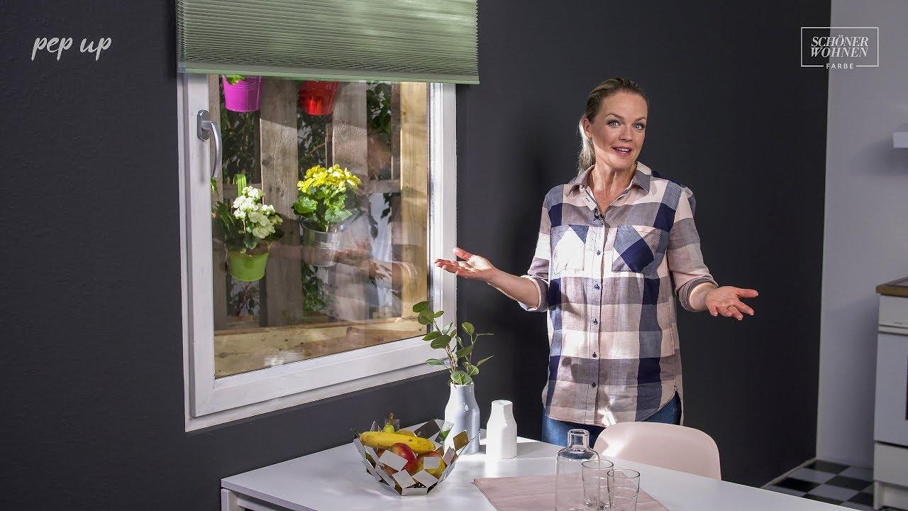 Schoner Wohnen Pep Up Renovierfarbe Fur Fensterrahmen Youtube