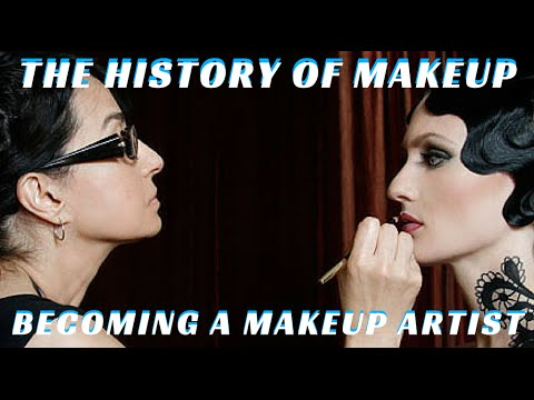 The History of Makeup & How to Become a Makeup Artist #MondayMakeupChat - mathias4makeup - YouTube