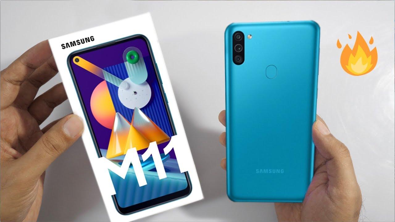 Samsung Galaxy M11 Unboxing
