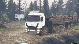 Spintires - Видео обзор на грузовик ЯМАЛ SGS(, 2017-01-14T10:45:03.000Z)