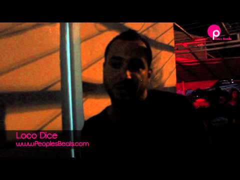 interview Loco Dice By PeoplesBeats.com