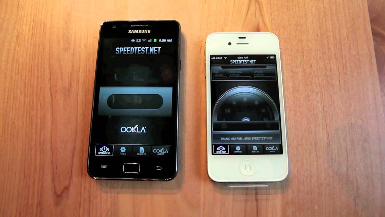 iphone wifi speed test iphone 4s vs galaxy s ii 3g and wifi speed test 9556