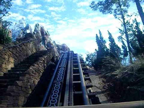 Disney World Mount Everest ride Front Row - YouTube