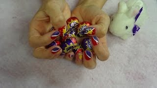 Cadbury Eggs Nail Tutorial