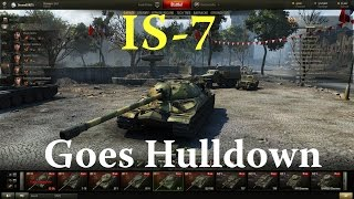 World of Tanks - IS-7 Goes Hulldown