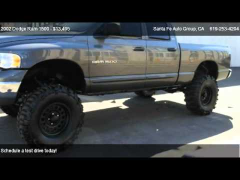 2002 Dodge Ram 1500 Slt Quad Cab Short Bed 2wd For Sale