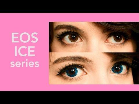 EOS Ice Blue/Brown On Dark Brown Eyes