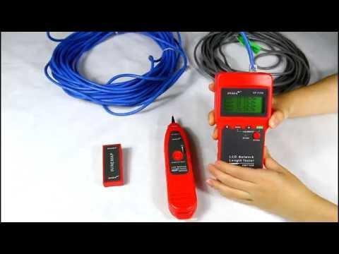 Lcd Network length tester NF-8208