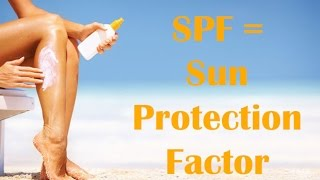 What does SPF mean? How much SPF do I need in sunscreen? Thumbnail