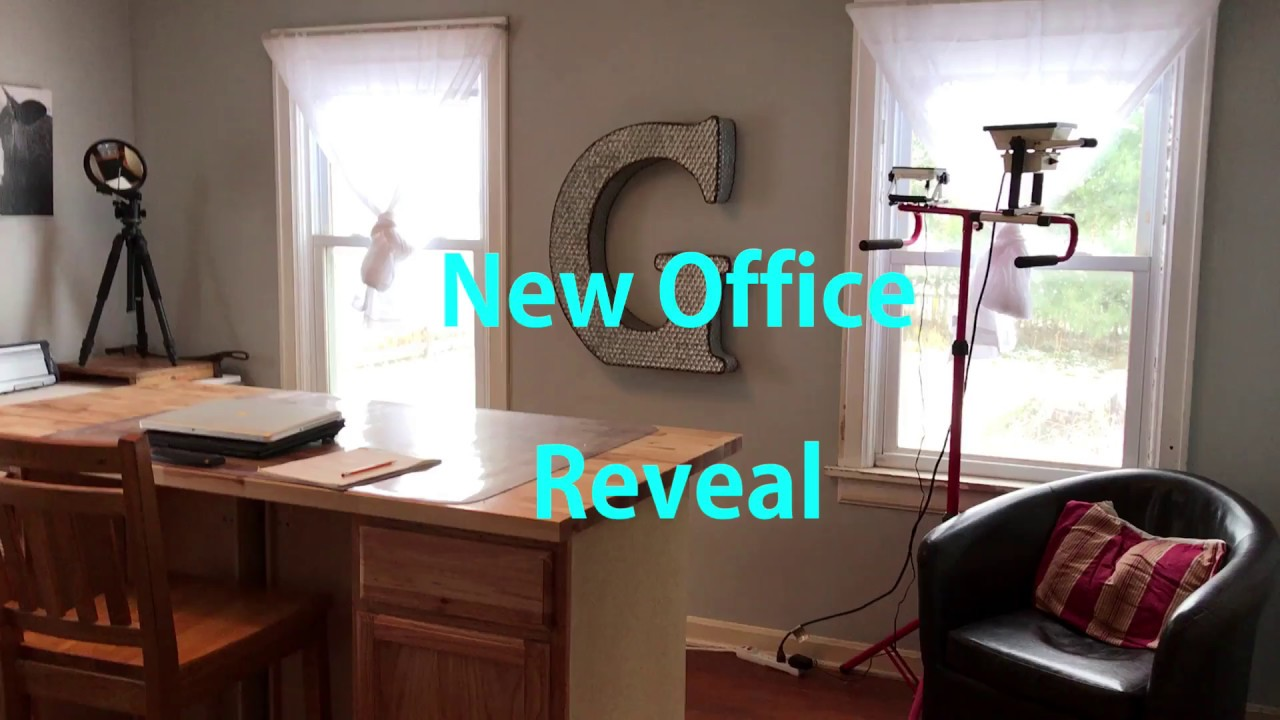 Home Office Tour Or New Office Remodel
