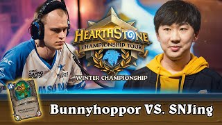Bunnyhoppor vs. SNJing - Semifinals - HCT Winter 2019