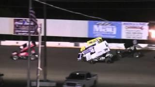Heart O' Texas Speedway ASCS Sprint Cars Wreck