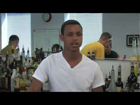 video:Bartending School DC grad at Park at 14th