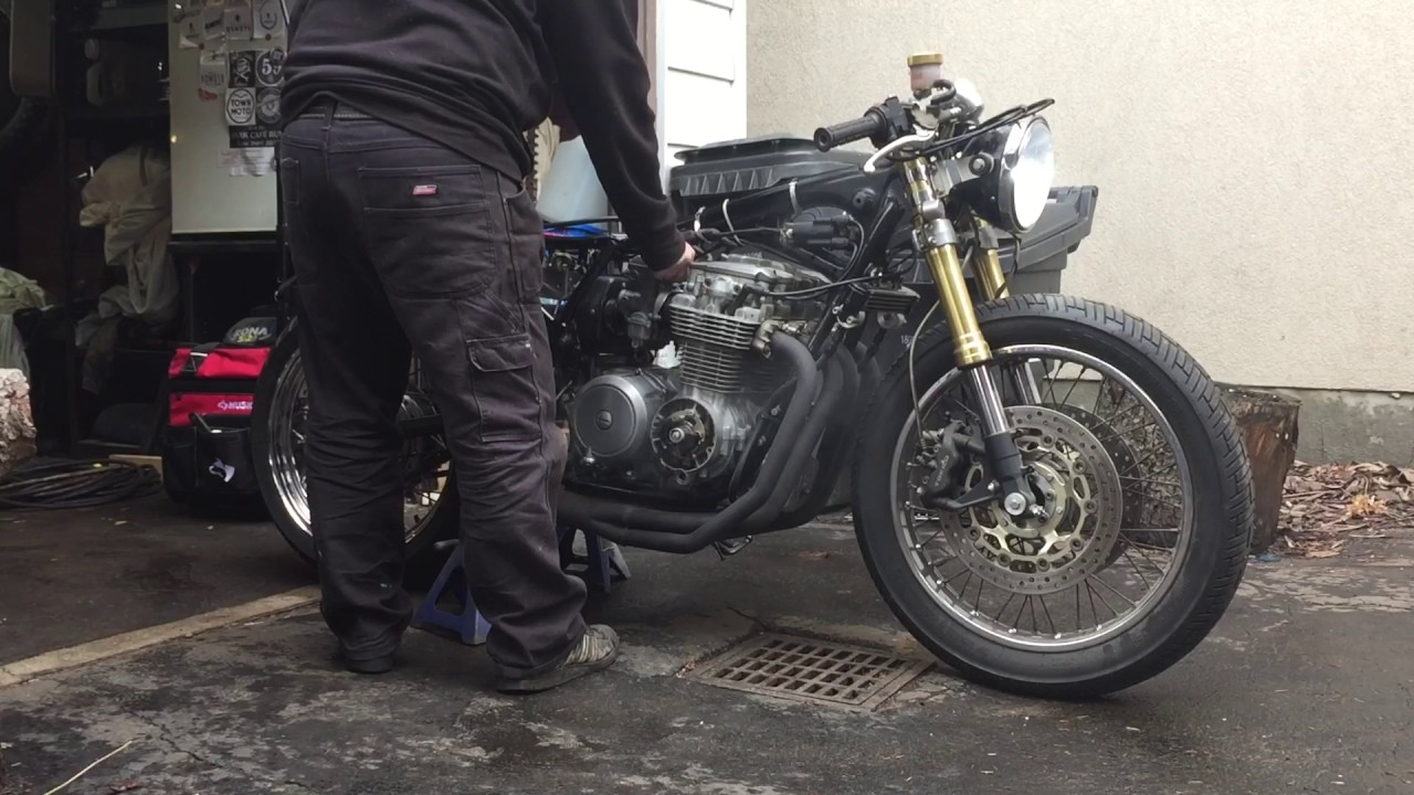Honda CB650 motor  CB750 carburetors  CB550 frame