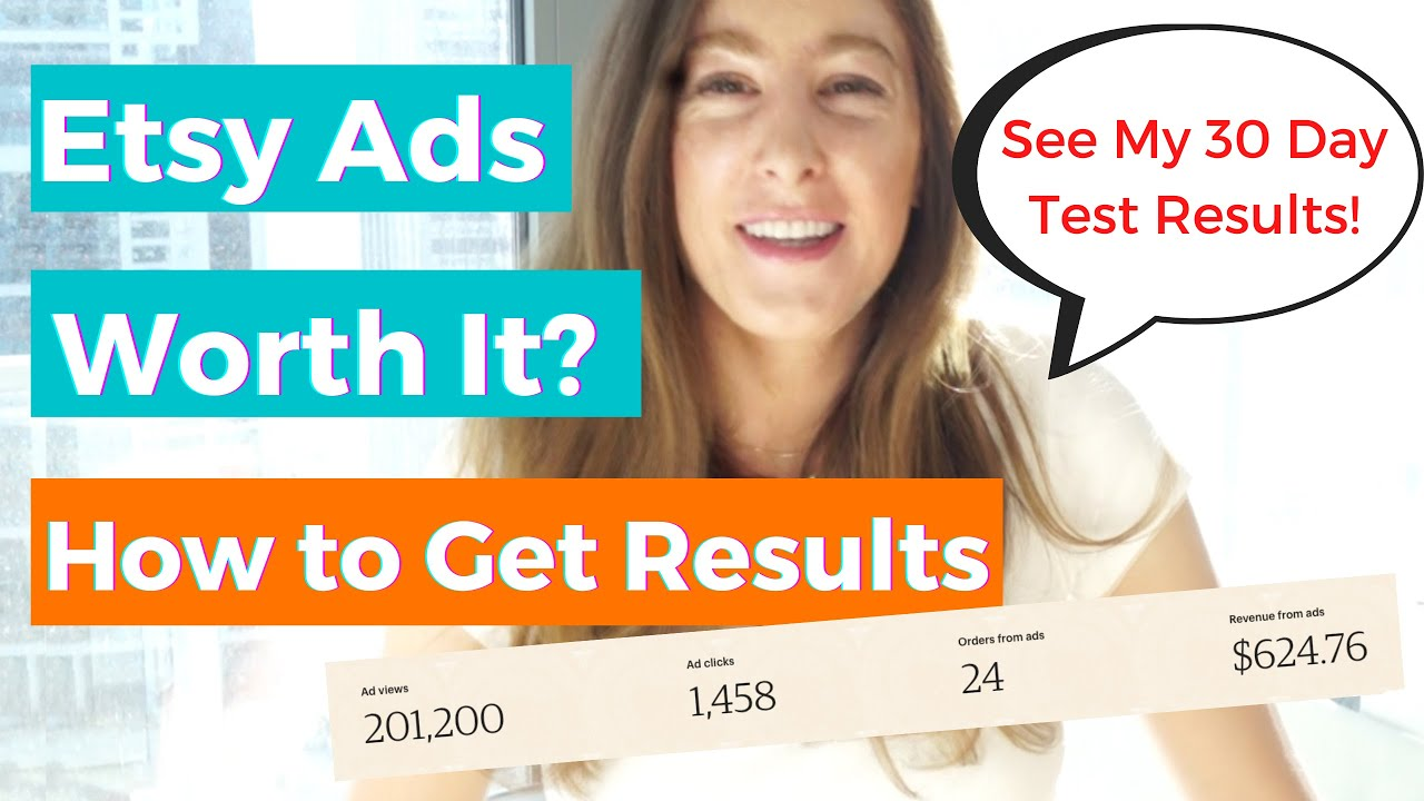 Etsy Ads - Are they Worth it? My 30 Day Etsy Ad Spend & Results