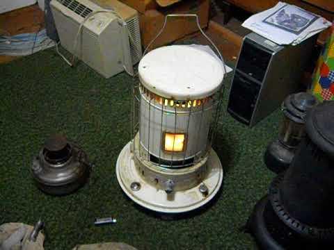 RED DYE diesel in FANCO kerosene heater