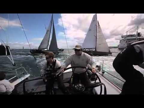 Oakcliff All-American Offshore Team - Rolex Fastnet Race, Day 1