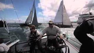 Oakcliff All-American Offshore Team - Rolex Fastnet Race, Day 1