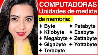 Computadoras #11 - Unidades de medida (Byte, Kilobyte, Megabyte, Terabyte, Gigabyte, etc.)