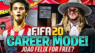 FIFA 20 Career Mode! Joao Felix for Free?