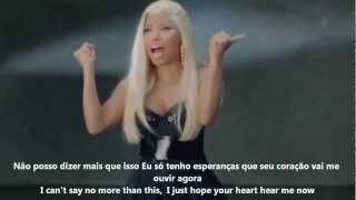 Nicki Minaj - Right By My Side (Explicit) ft. Chris Brown ( Lyrics / Legendado )