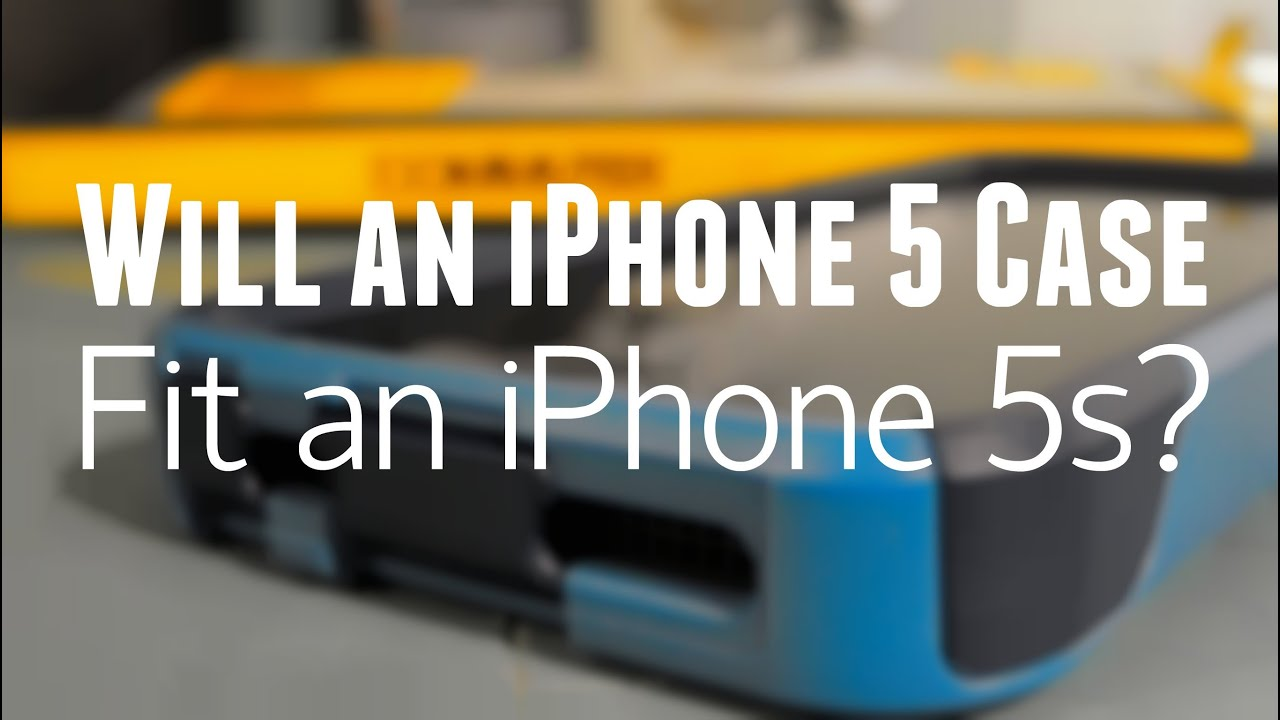 Will an IPhone 5 case fit an iPhone 5S? - YouTube