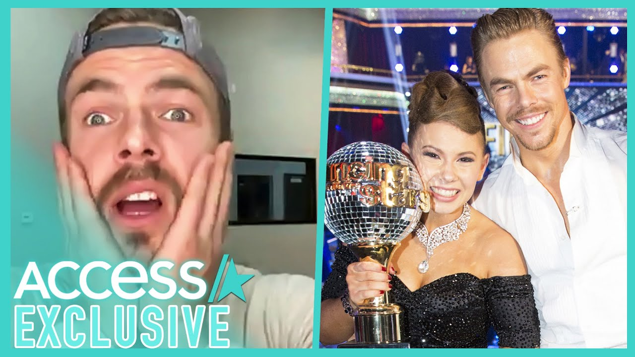 Derek Hough Mindblown Over Bindi Irwin's Pregnancy