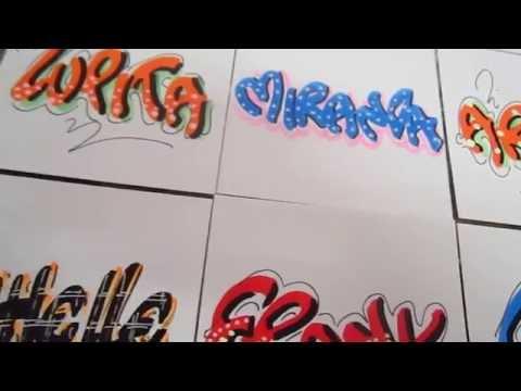 como escribir nombres letra timoteo - entrega