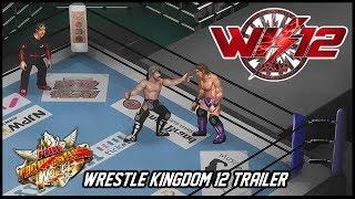 WRESTLE KINGDOM 12 TRAILER: Fire Pro Wrestling World