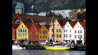 Фильм об автобусном туре по Норвегии_2007_часть 3_Берген