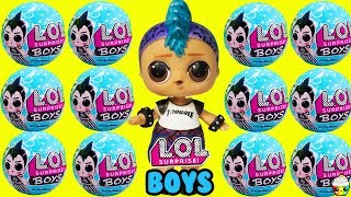 LOL Surprise BOY SERIES New Boy Dolls + Boys Basketball Game Video
