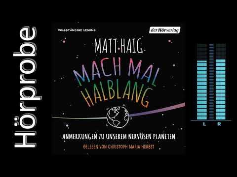 Mach mal halblang YouTube Hörbuch Trailer auf Deutsch