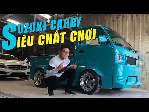 Xe tải Suzuki CARRY độ widebody chất chơi nhất Việt Nam, phong cách JDM Truck