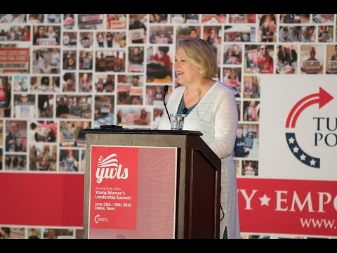 Ginni Thomas speaks at Turning Point USA's Young Women's Leadership Summit