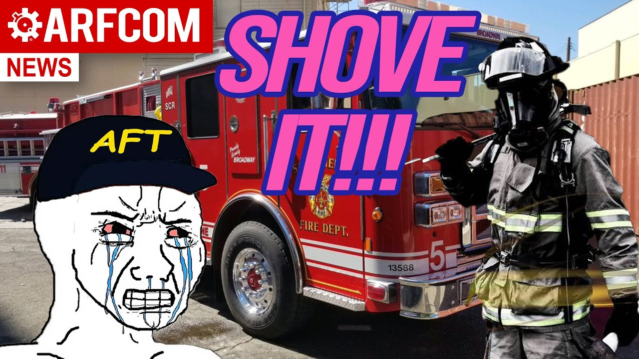 [ARFCOM NEWS] The Fireman Who Told The AFT Where To Stick It + FL Legalizes Church Carry