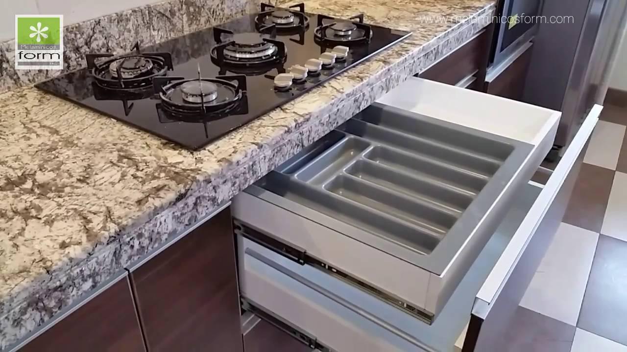 cocinas modernas de melamina en lima per youtube