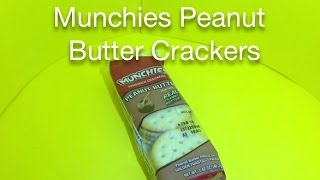 Munchies Peanut Butter Crackers