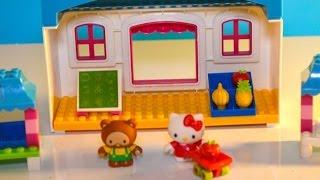 Mega Blocks Hello Kitty Fruit Market Marche aux fruits, Mercado de frutas 헬로 키티 장난감 헬로 키티 장난감, 凱蒂貓玩具