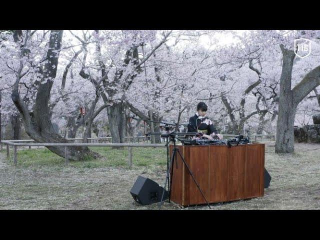 【LIVE配信】マルチクリエイター/DJのYonYonが桜の名所・高遠城址公園でシティポップセットを披露