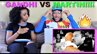 "Epic Rap Battles of History ""Gandhi vs Martin Luther King Jr"" Reaction!!!"
