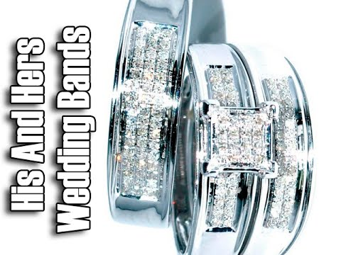 his-and-hers-wedding-bands-white-gold---cheap-white-gold-wedding-bands