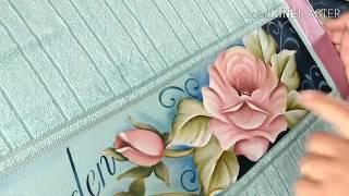 Rápido e Fácil – Pintura em toalha