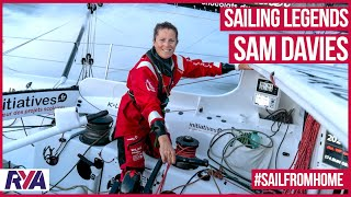"""We're not invincible, and this race is dangerous"" - Sam Davies - Vendee Globe - Volvo Ocean Race"