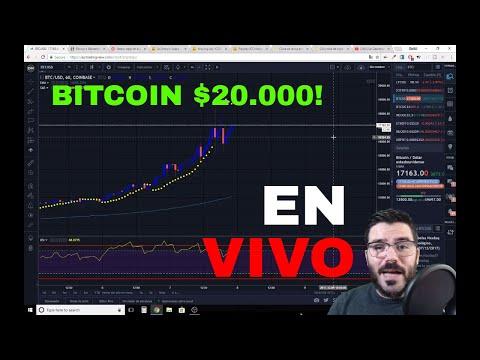 Bitcoin llega a los $20.000! El mercado se sacude Litecoin IOTA Ripple  Streaming en Vivo