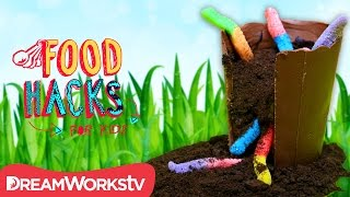 Devour a Flower Pot & More Super SPRING Hacks | FOOD HACKS FOR KIDS